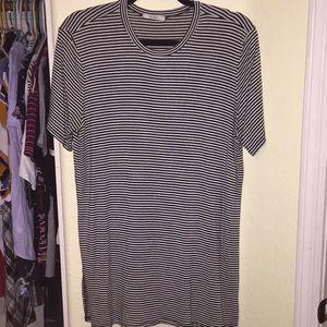 Striped Slit T-shirt